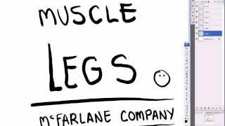 McFarlane Art Lesson - (How to Draw Legs)