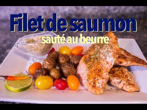 filet-de-saumon-sauté-au-beurre-sauce-de-fenouil-au-citron-baby-potatoes-cuites-au-four