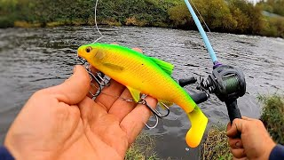 This Lure Got CRUSHED! (River Fishing)