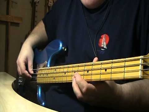 Tom Petty I Won't Back Down Bass Cover