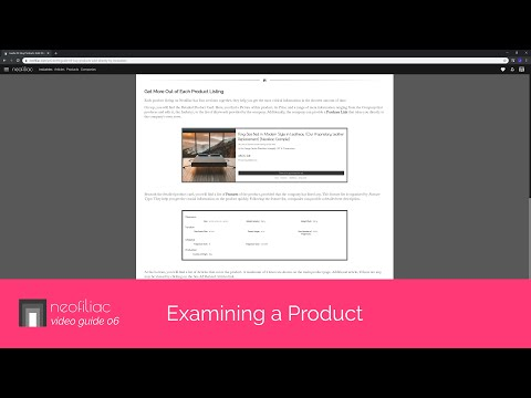 Examining a Product | Neofiliac Video Guide 006