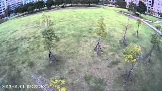 Freex~pvc雲台底座測試2,使用sj4000攝影機,南港小公園