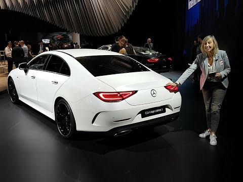 A bord de la Mercedes CLS Coupé (2018)