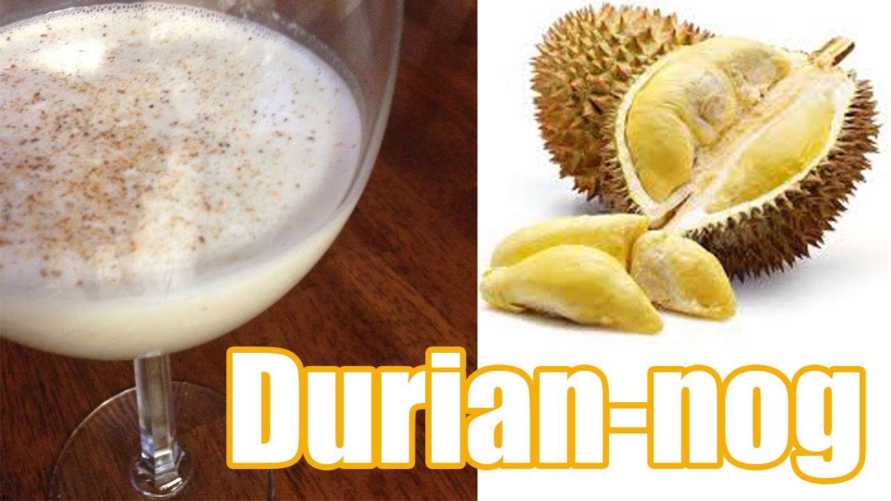 Recipe raw vegan eggnog durian nog youtube recipe raw vegan eggnog durian nog forumfinder Image collections
