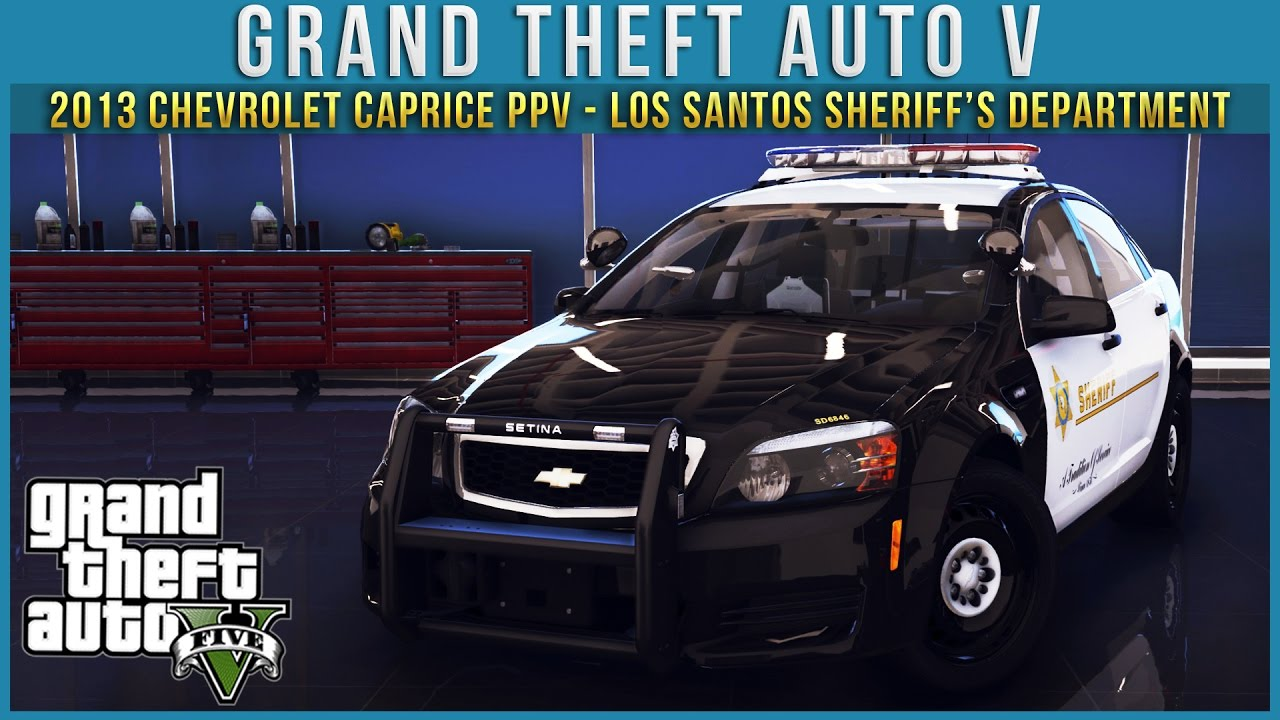 2013 Chevrolet Caprice PPV - Los Santos Sheriff's Department