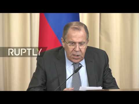 LIVE: Lavrov holds press conference alongside Congolese counterpart Gakosso