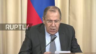 LIVE  Lavrov holds press conference alongside Congolese counterpart Gakosso