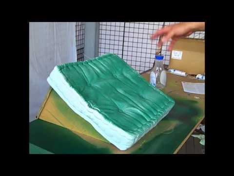 How to Use Simply Spray Fabric Spray Paint on Patio