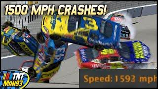 1500 MPH CRASHES! | NASCAR Racing 2003 Season | Crash Montage Compilation