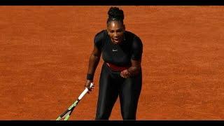 Serena Williams cat suit banned