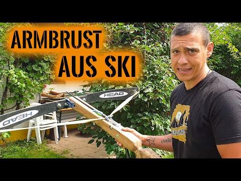 ARMBRUST aus SKI! 😲 Funktioniert das?   Zu Besuch bei den Schildmachern   Survival Mattin