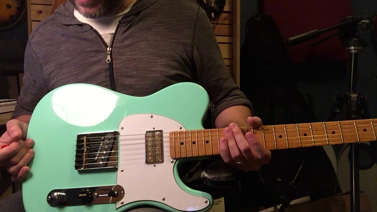 G&L Limited Edition Tribute ASAT Clic Bluesboy review & mods on