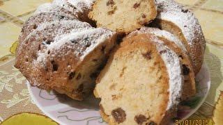 Вкусный кекс с изюмом. Простой рецепт приготовления.(Смотрите видео о том, как приготовить вкусный кекс с изюмом. Простой рецепт приготовления дает шанс всем..., 2015-01-24T17:36:49.000Z)