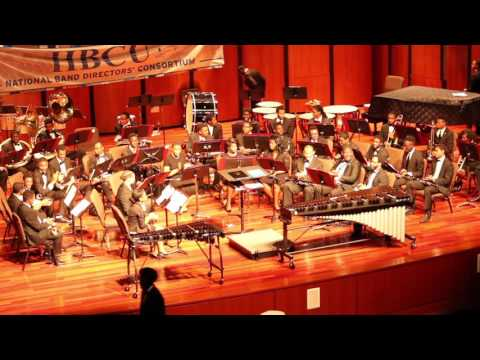 HBCU NBDC 2017 Morehouse College Concert Band