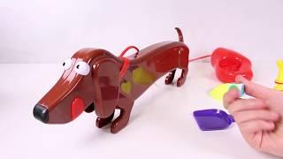 🐕 CUIDA A DOGGIE DOO 🐕 El divertido juego del perro salchicha que hace popo! | Juguetes para niños