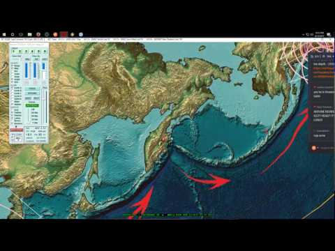 4/12/2017 -- West Coast USA Earthquake watch / Pacific Northwest slow slip ends?