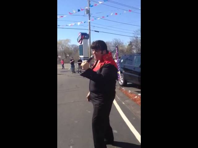 Mike Slater Tribute to Elvis @ Car Show 4/12/14