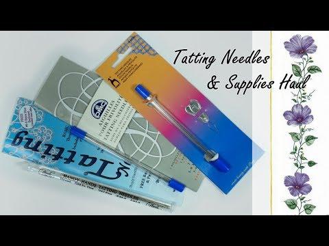 Tatting Needles Review & Supplies Haul | AliExpress | Обзор игл для фриволите & распаковка посылок
