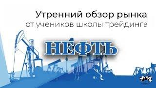 Обзор нефть Brent 17 09 19
