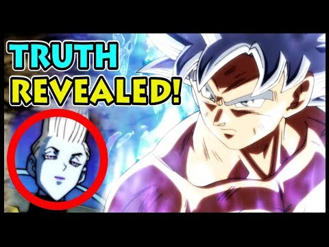 Whis REVEALS THE TRUTH about Goku's Mastered Ultra Instinct! (Dragon Ball Super UI White Silver DBS)