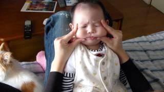 赤ちゃんマジでキレる!怒!(世界一かわいい仏頂面) Angry Baby!!!生後3ヶ月 Baby is in a bad temper thumbnail