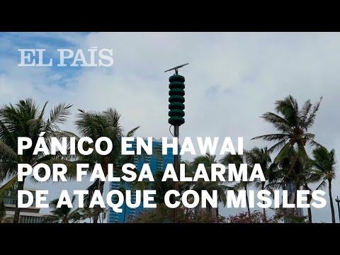 Hawái envía por error una alerta de ataque con misiles a toda la población