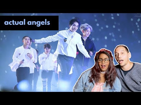 EXO PLANET #4 The ElyXiOn in Seoul 나비소녀(Don't Go) REACTION (EXO REACTION)