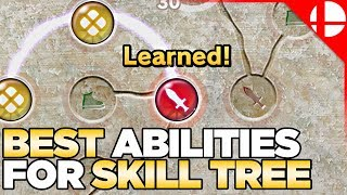 Best Skill Tree Abilities for Smash Ultimate World of Light