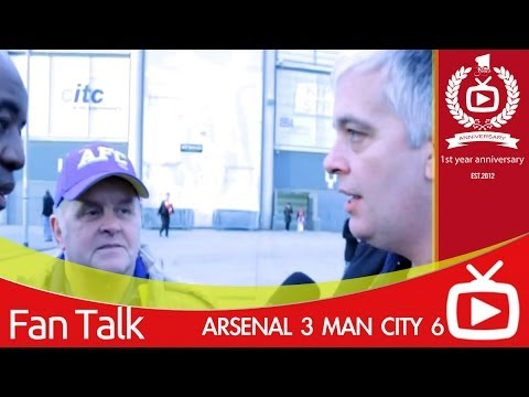 Arsenal 3 Man City 6 - Today Was Embarrassing
