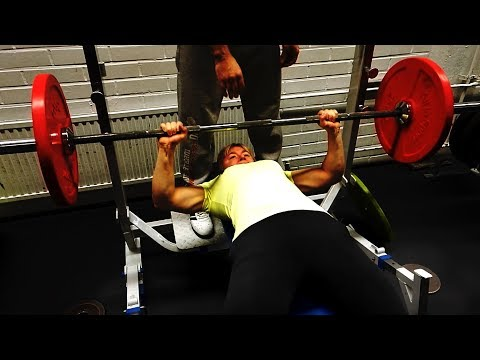Bench Press Workout | 82,5 kg / 182 lbs x 2 | Female