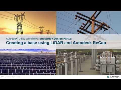 Substation Design - Using LiDAR