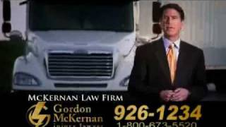 Baton Rouge 18 Wheeler & Gulf Oil Spill Attorney - Gordon McKernan - Big Trucks 1