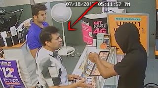 Video Shows Store Owners Fight Off Armed Men Who Tried to Rob Them: Cops