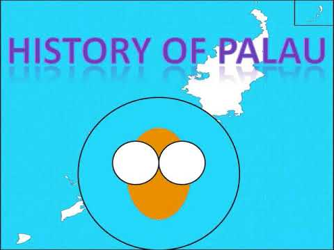 History of Palau in Countryballs