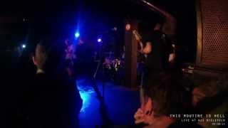 This Routine Is Hell - Cancer & I Wake To See The World Go Wild (live at AJZ Bielefeld 09/08/14)