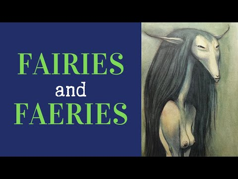 Fairies And Faeries - Book Review And Flip Through