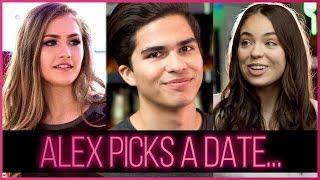 Alex Aiono, Claudia Sulewski + Mel Joy triple date at a rollerskating rink?!