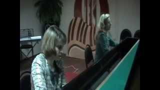 Фортепианный дуэт Времена соборов мюзикл Нотрдам де Пари