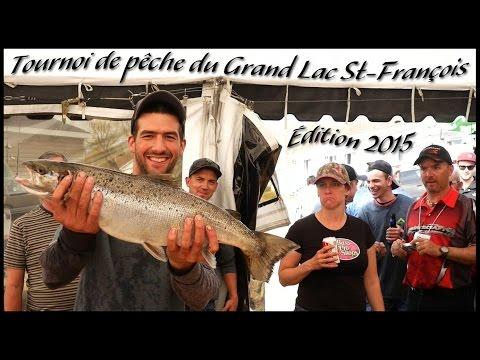 Tournoi de pêche du Grand Lac Saint-François,  9 mai 2015