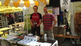 Free Software Foundation and The Zeitgeist Movement @ Veganmania Vienna 2013