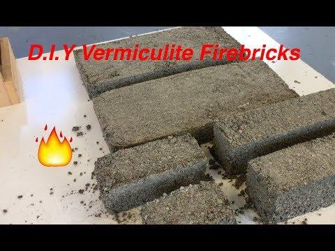 DIY Vermiculite Firebricks for a MINI FORGE - Part 1