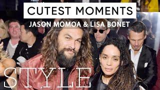 Jason Momoa And Lisa Bonet's Cutest Moments | The Sunday Times Style