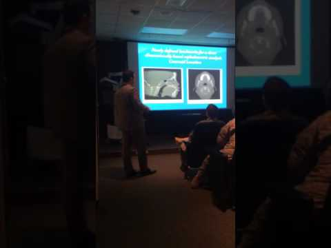 Digital Workflow-Dr. Cosmo gives lecture to US Military at Walter Reed Hospital.