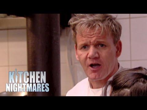 Chef Cooks Floor-Seasoned Chicken - Kitchen Nightmares