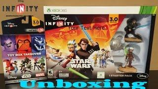 Disney Infinity 3.0 Star Wars Starter Pack Unboxing!