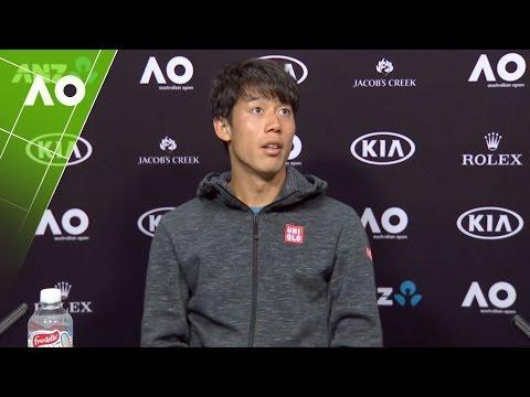 Kei Nishikori press conference (3R) | Australian Open 2017
