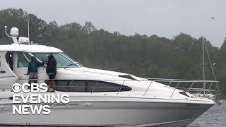 Jacksonville boat captain plans to ride out Hurricane Florence on the water