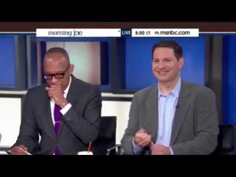 DISTURBING FOOTAGE: Mark Halperin Spooning On Live Television