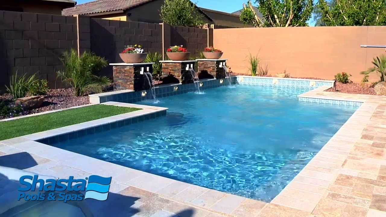 Surprise arizona swimming pool experience the shasta for Pool design aufkleber