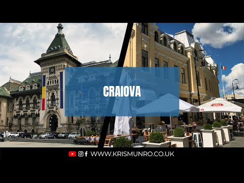 Travel Vlog : Craiova 🇷🇴 (Romania) 2017